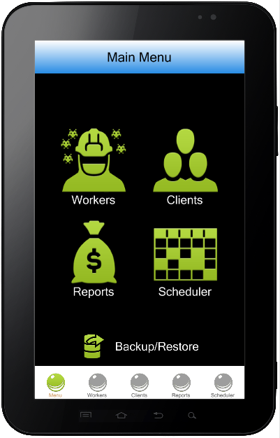 Pest Control business software for ipad, iphone and android.