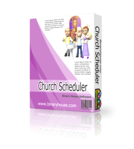 Church Scheduler 2.7