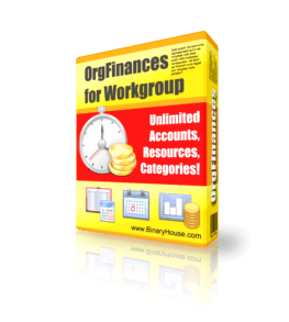 OrgFinances for Workgroup 2.8