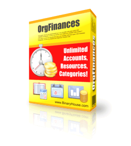 OrgFinances 2.9