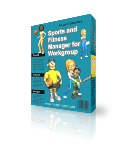 Sports and Fitness Manager for Workgroup 2.9