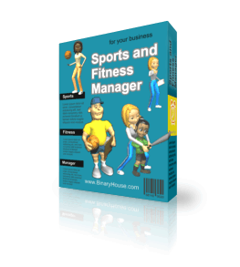 Sports and Fitness Manager 3.0