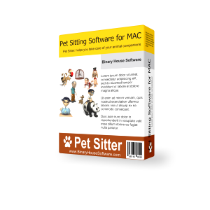 Pet Sitting Software for MAC 3.1